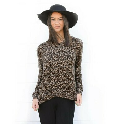 Cheetah Crossover Sweatshirt