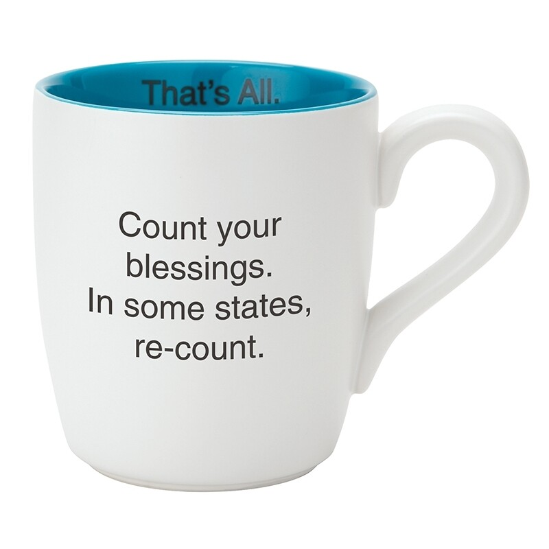 Count Your Blessing Mug