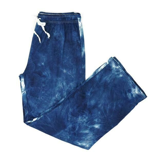 Hello Mello Tie Dye Pants Navy