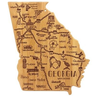 Destination Georgia Cutting Board