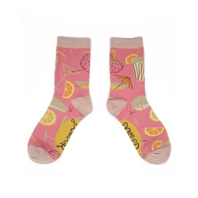 Ladies Socks Cocktail