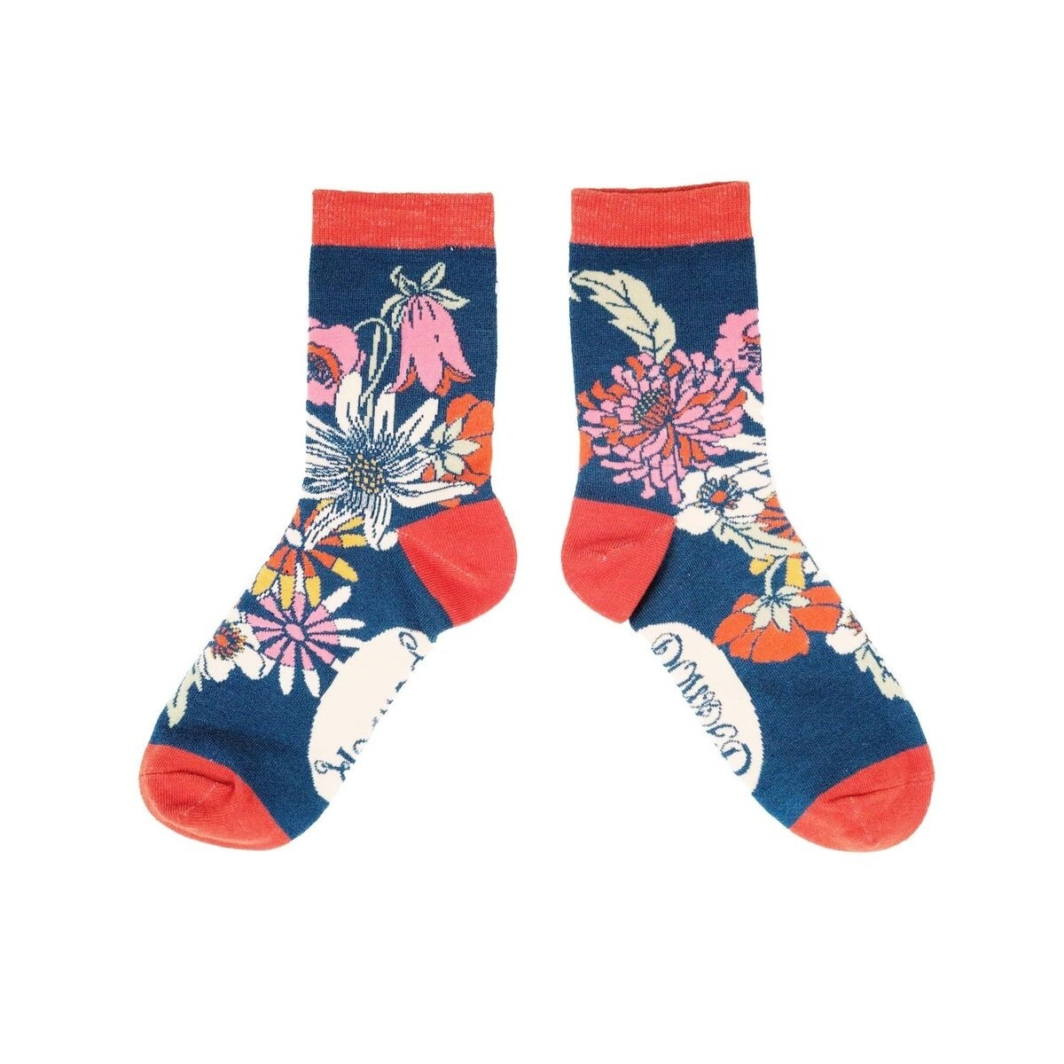 Ladies Socks Teal Meadow