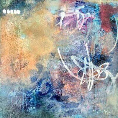"""Framed 12"""" Canvas Cosmic Sky"""