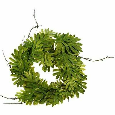 Philodrendon Wreath