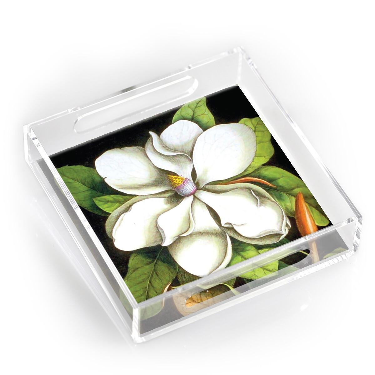 """8"""" Lucite Tray-Magnolia"""