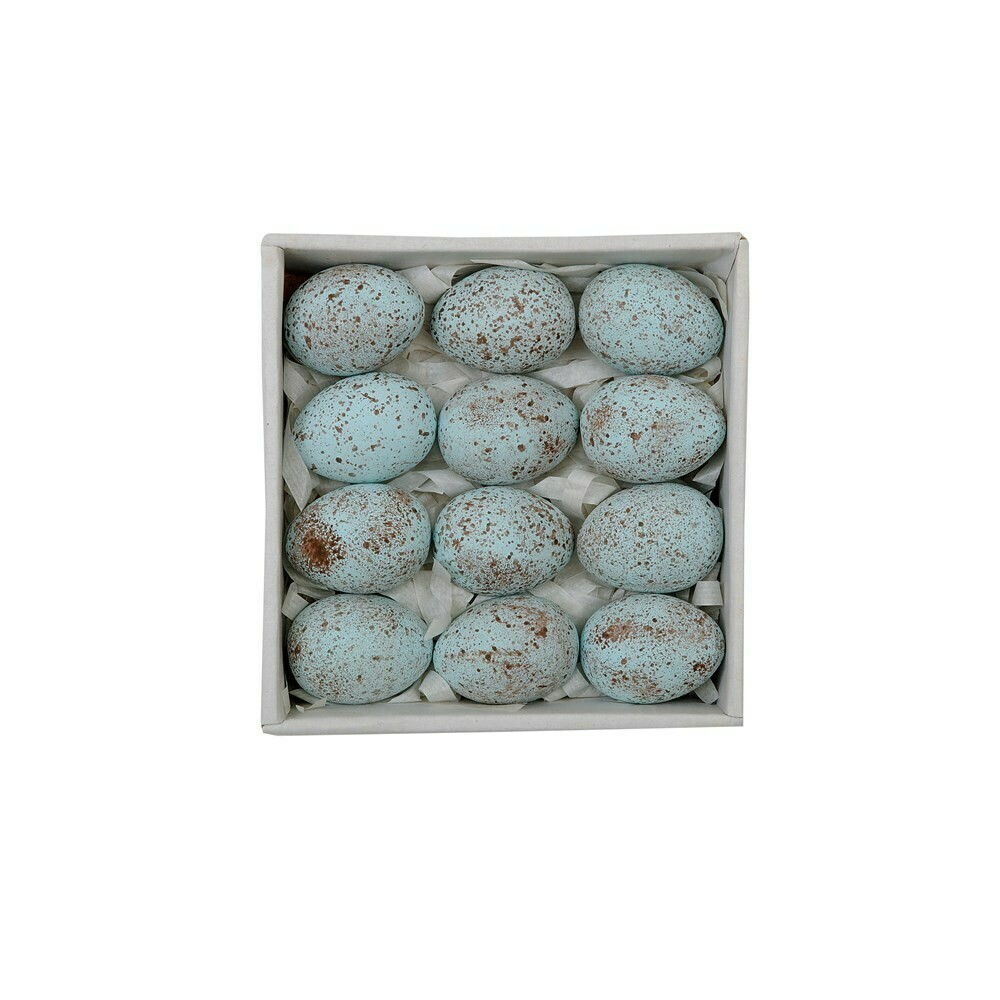 "1.75"" Ceramic Eggs... set of 12"