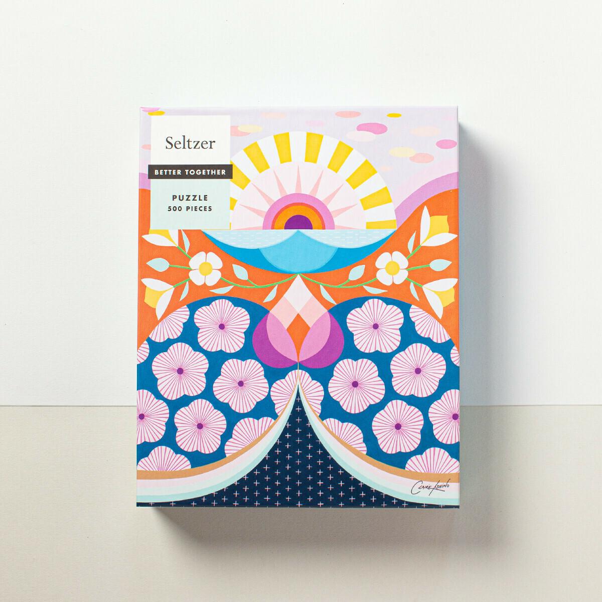 Sunshine Flowers Puzzle