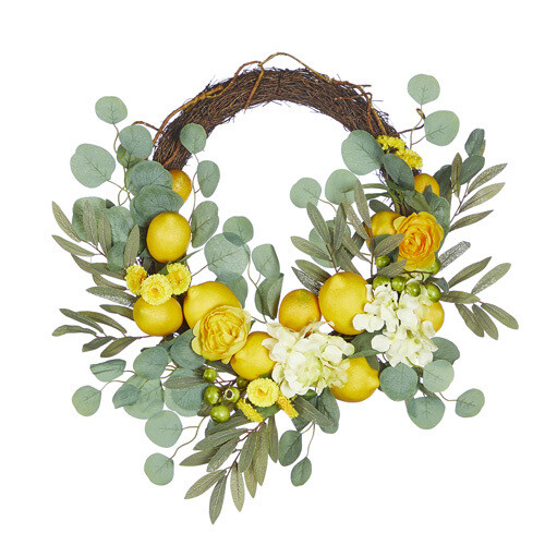 "23"" Lemon Wreath"