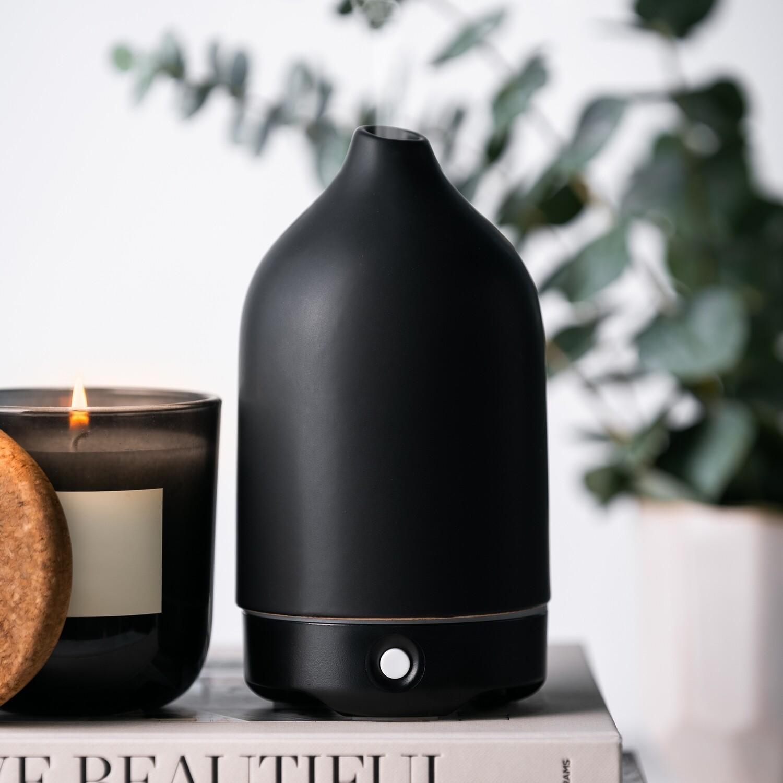 Black Ceramic Glass Diffuser