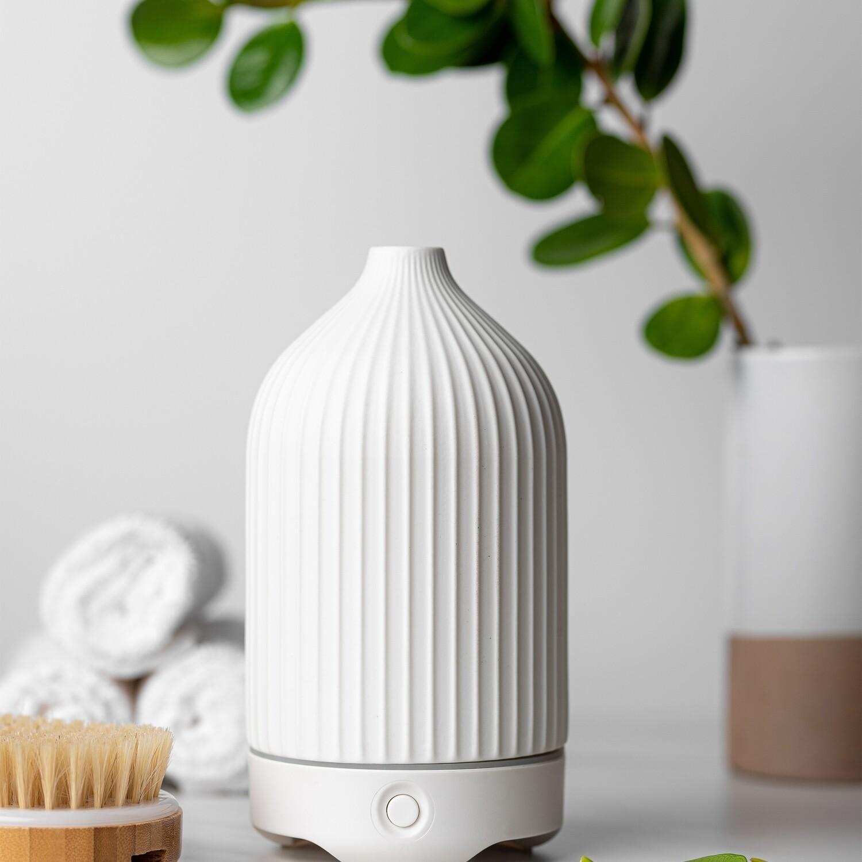 White Ceramic Glass Diffuser