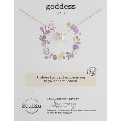 Goddess: Pearl Necklace