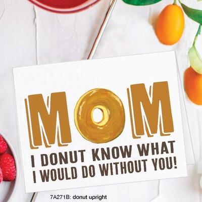 Mom Donut Card