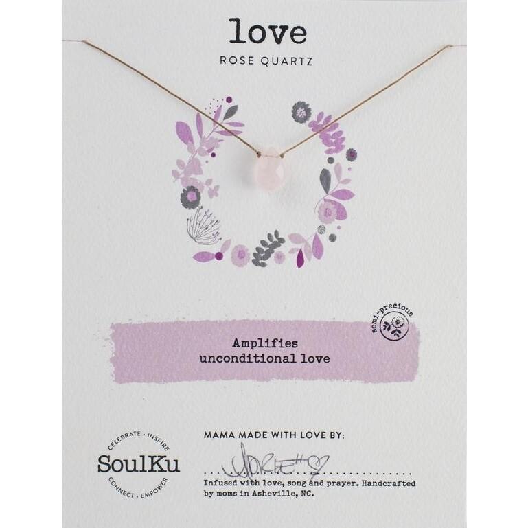 Love: Rose Quartz Necklace