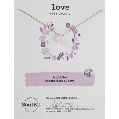 Love: Rose Quartz Necklace