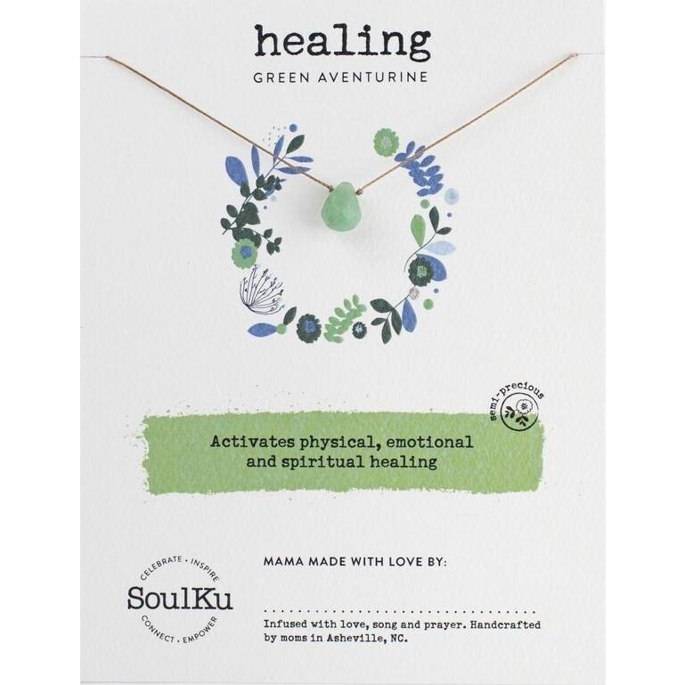 Healing: Green Aventurine Necklace