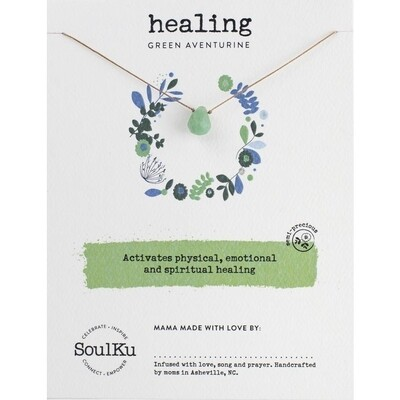 Healing: Green Aventurine Necklace