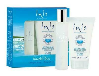 Inis Traveler Duo Gift Set