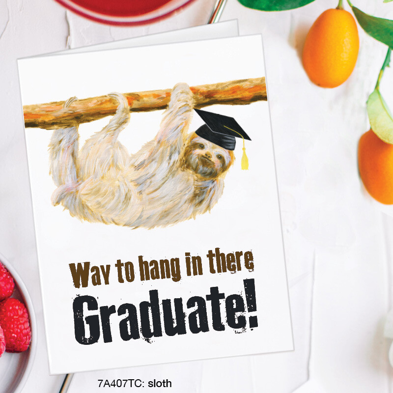 Sloth Graduate