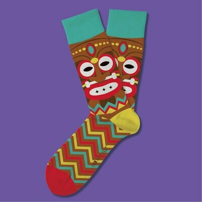 Tikki Terrace Socks