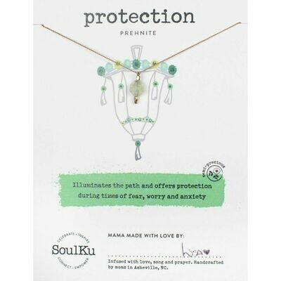 Protection: Prehnite Necklace