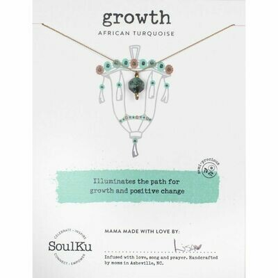 Growth: African Turquoise Necklace