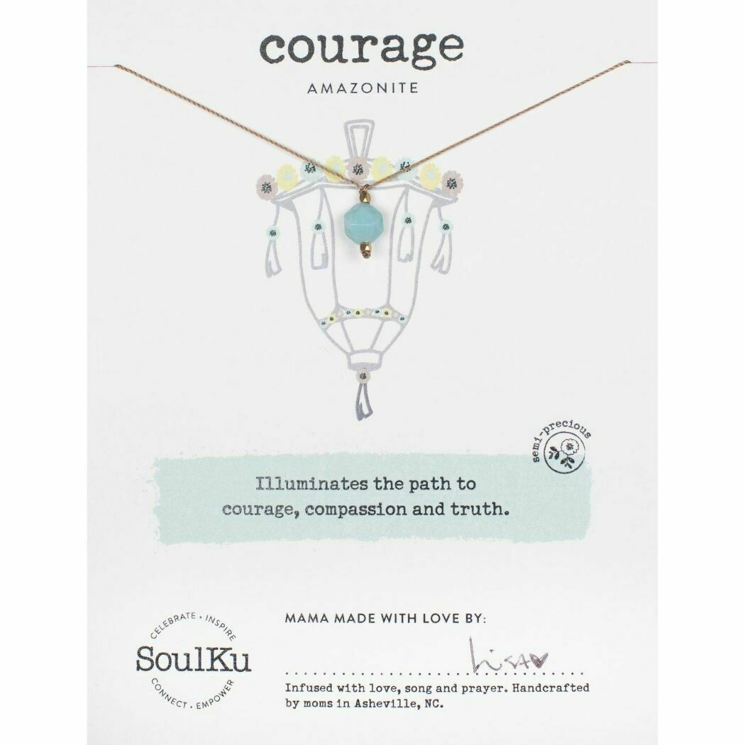 Courage: Amazonite Necklace