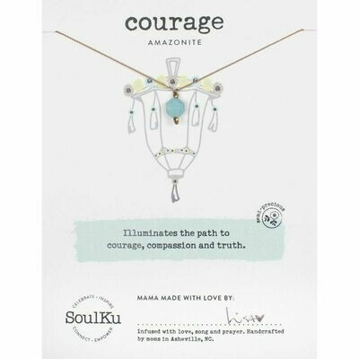 Courage: Amazonite Necklace