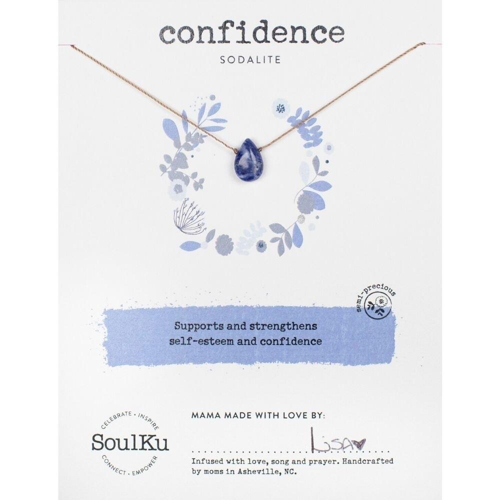 Confidence: Sodalite Necklace
