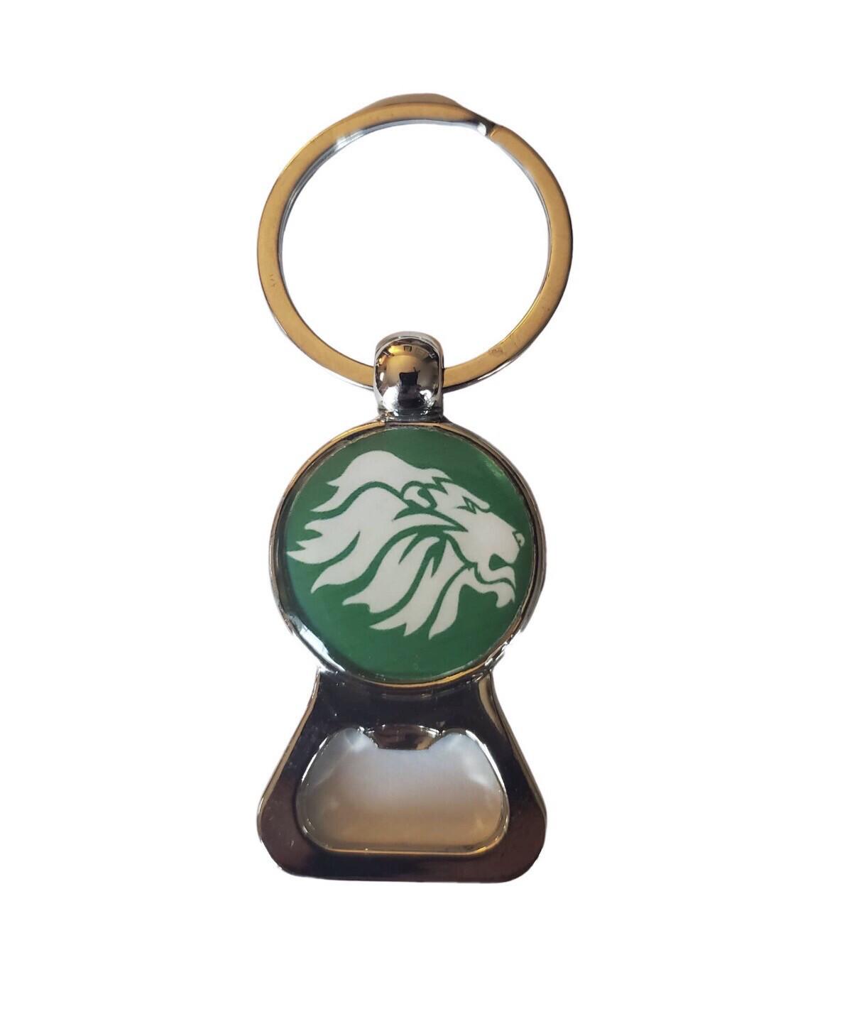 Custom Keychain w School Mascot