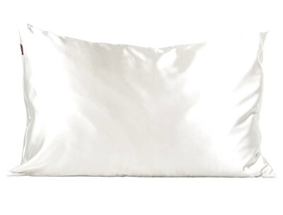 Ivory Standard Satin Pillowcase