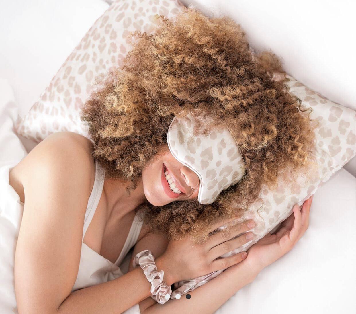 Leopard Standard Satin Pillowcase