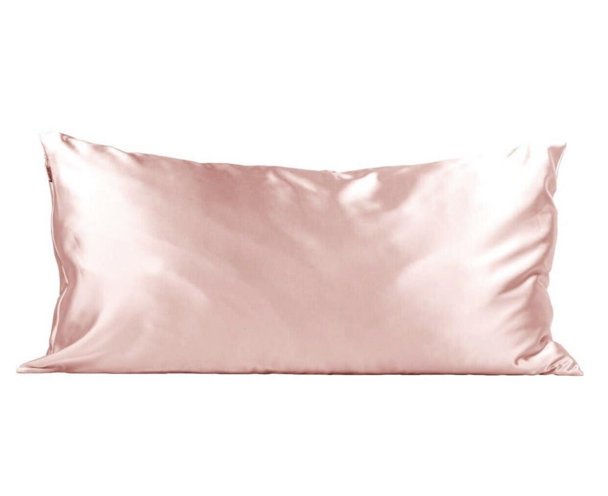 Blush King Satin Pillowcase