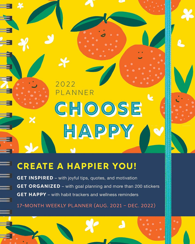 Choose Happy 2022 Planner