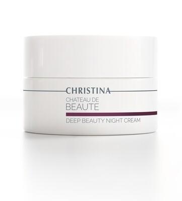CHATEAU-Deep Beaute night cream 50