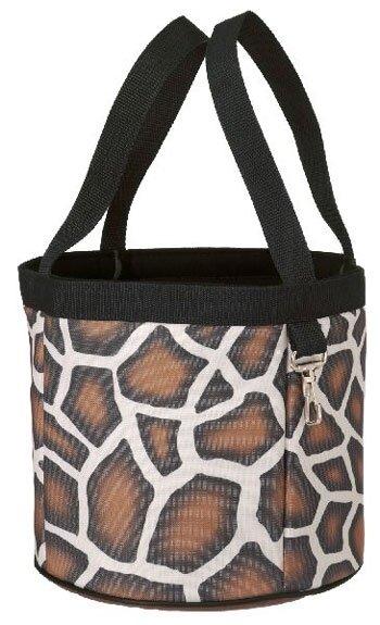 Groom tas in giraf print
