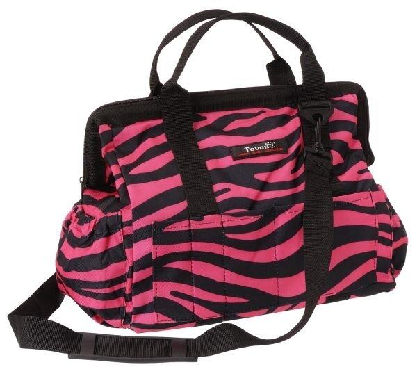 Tas in roze zebra print