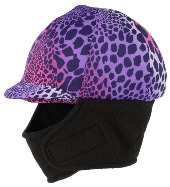 Winter cap cover met fleece wild safari