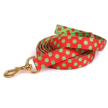 Red Green Polka Dot
