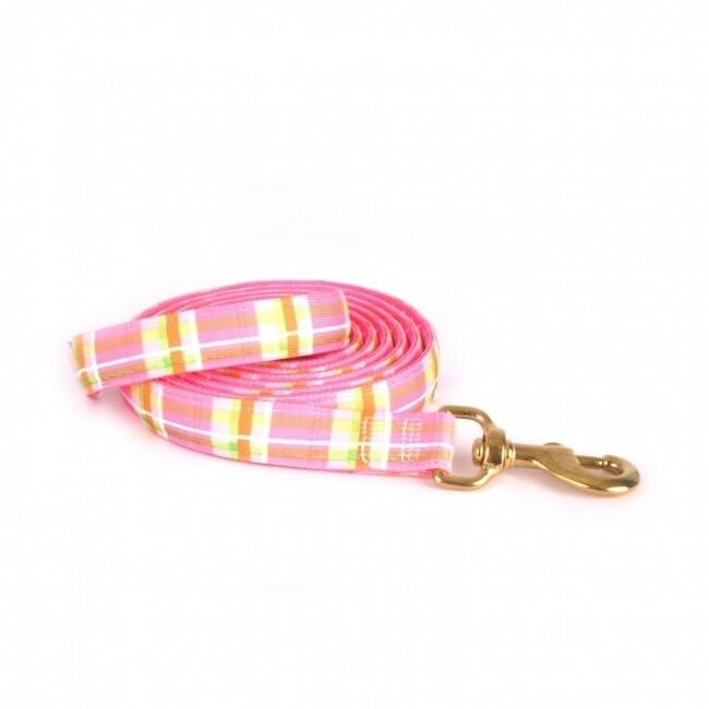 Madras Pink on Pink Polka