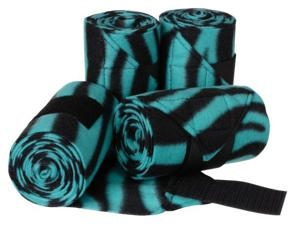Softfleece bandage zebra aqua Tough 1