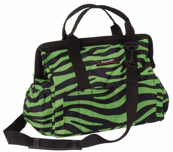 Tas in groene zebra print