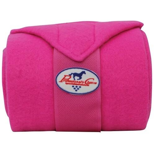 Fleece bandage framboos Prof Choice