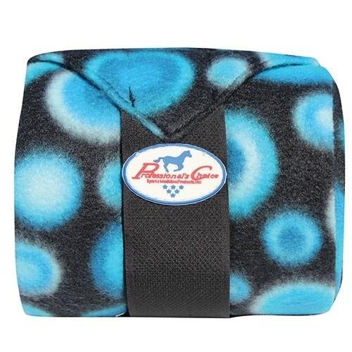 Fleece bandage blauw/aqua Prof Choice