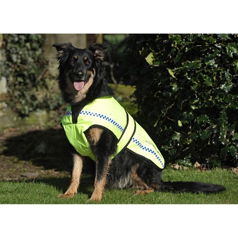 Reflecterend veiligheidsdeken voor honden