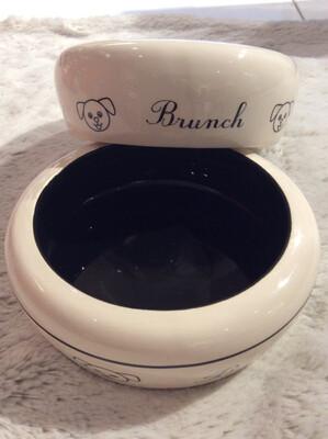 Ceramic Bowl 0.3l Black
