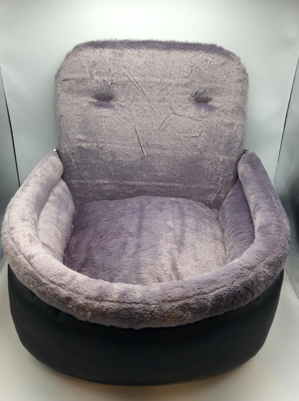 Autostoel Zwart/grijs Groot
