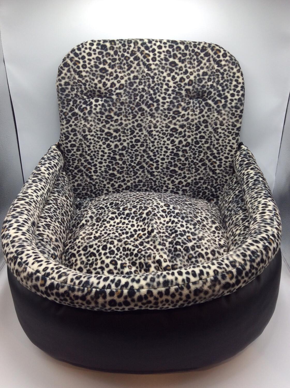 Autostoel Zwart Luipaard Groot