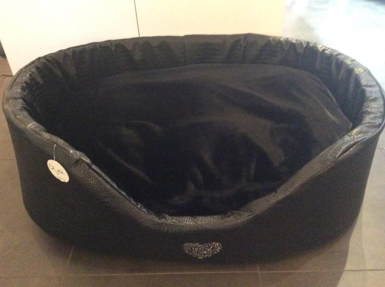 Round Bed S9 Black