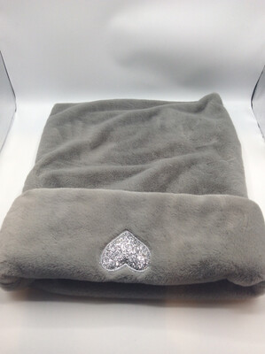 Luxe Sleeping Bag Grey S1