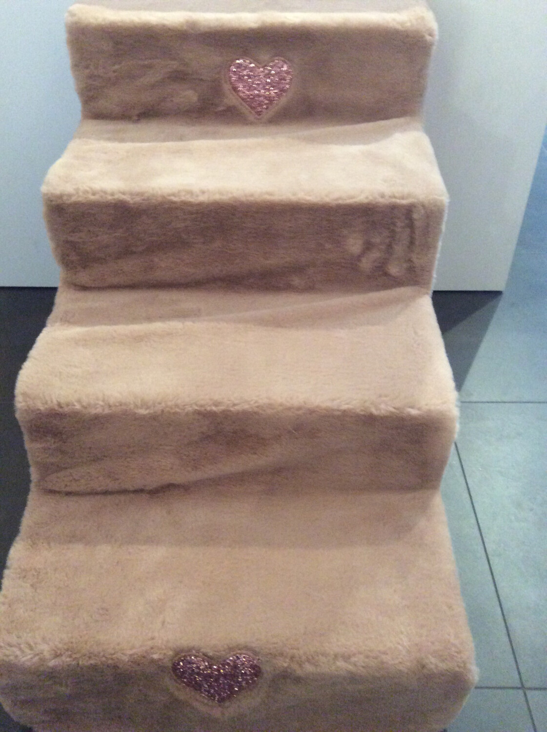 Stair Old Glitter Pink